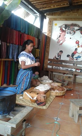 San Juan la Laguna, Guatemala: Excelente presentacion
