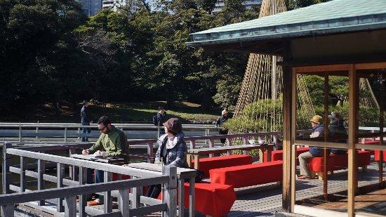 Giardini di Hama Rikyu Photo