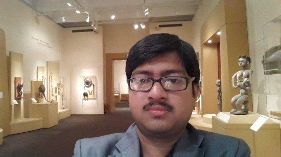 Palo Alto, Kalifornia: Me inside the museum