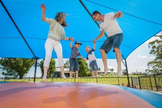 Hahndorf, Αυστραλία: Jumping Cushion