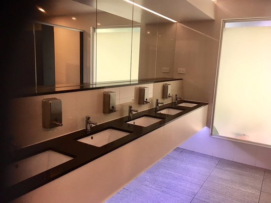 Helensvale, Australia: Ladies Bathroom Hand Wash Basins