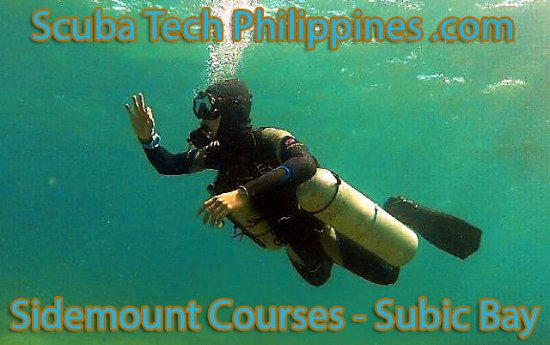 Subic, Philippines: Sidemount courses