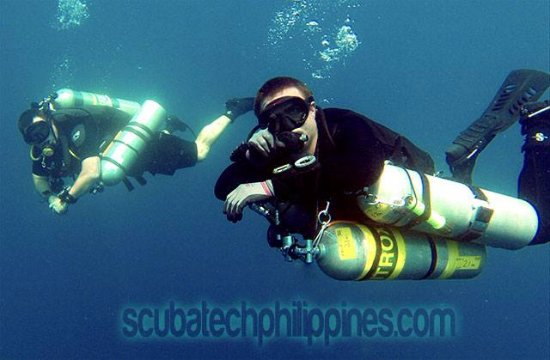 Субик, Филиппины: Technical diving in sidemount and backmount
