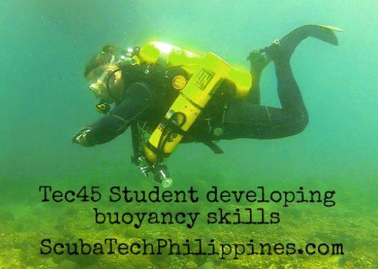 Subic, Filipinas: PADI TecRec training courses