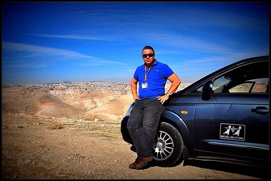 Michel Seban Gilboa - Guide en Israel