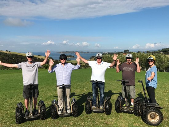 Oneroa, Nueva Zelanda: Look Ma no hands