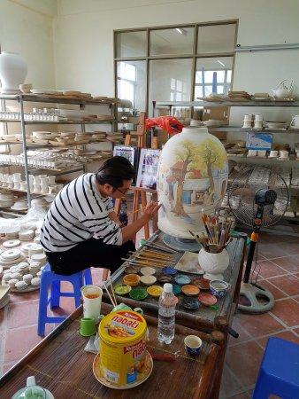 Hanoi Elite Hotel: Pottery tour
