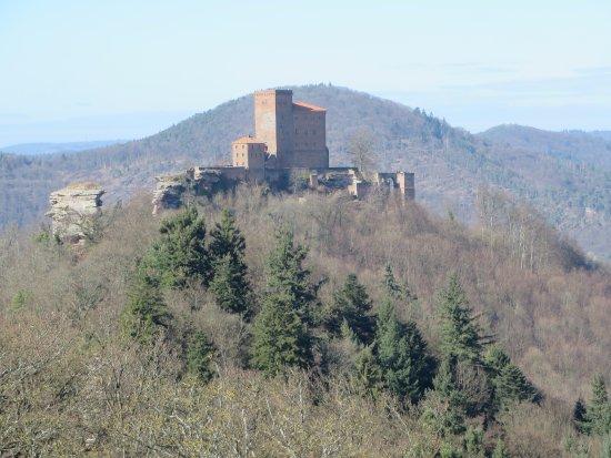 """Annweiler am Trifels, Tyskland: vue depuis la ruine """"munz"""""""
