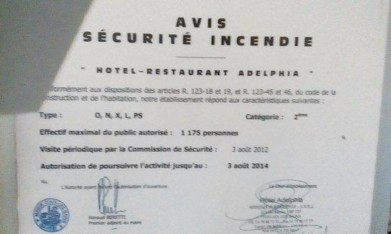Adelphia: Le document est valable jusqu'en 2014