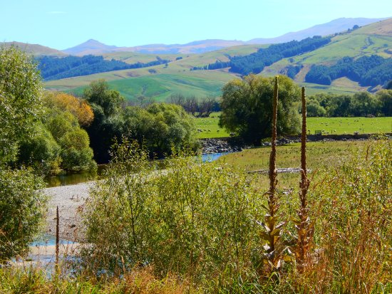 Travel through lovely scenery from Waikaia to Piano Flat