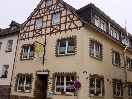 Haus Schwarzenberg: Zimmer mit direktem Blick auf die Mosel