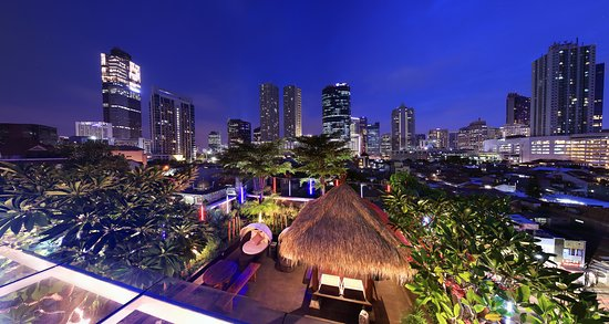 From Rooftop View Picture Of Sky Garden Cafe Jakarta Tripadvisor