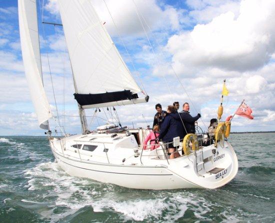 Lymington, UK: Another great days sailing...
