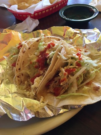 Advance, MO: Chicken Tacos