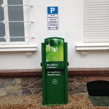 ควิกบอร์น, เยอรมนี: Neu! Ladestation für Elektro-Autos