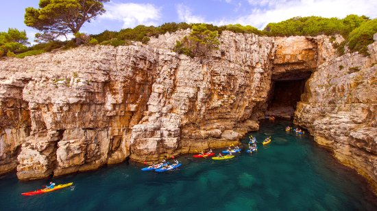 X-adventure sea kayaking Dubrovnik
