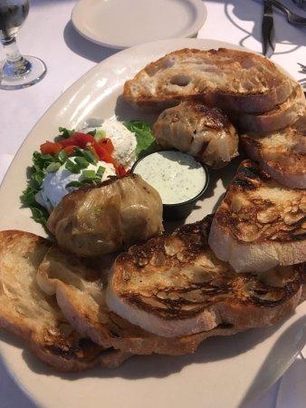 Brighton, MI: Roasted garlic appetizer!