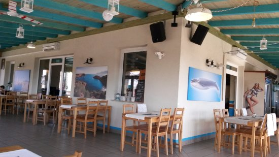 Vac, Hungary: Inside the restaurant
