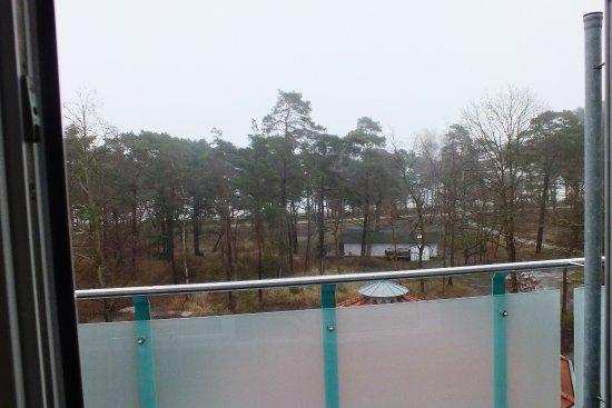 Seehotel Binz Therme Rugen: Aussicht in Richtung Ostsee und.Promenade und auf das Salzbad
