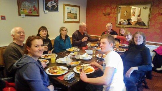 Redbrook, UK: Great meal, wonderful service