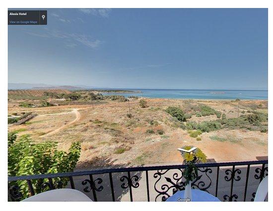 Parigoria, Greece: room with panoramic sea view