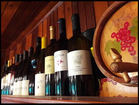 Bohinjska Bistrica, Slovenia: Slovenian wines