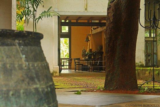 Bentota, Sri Lanka: View of a part of the house