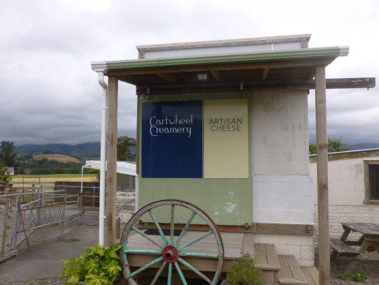Pohangina, Nueva Zelanda: Cartwheel Creamery