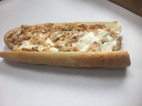 Warrington, Pensilvania: Buffalo Chicken Cheesesteak