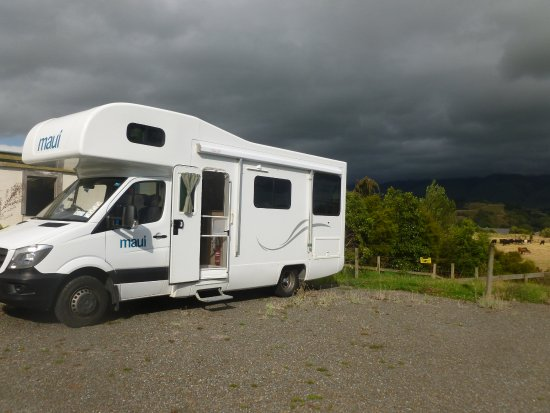 Pohangina, Nowa Zelandia: Our freedom camper