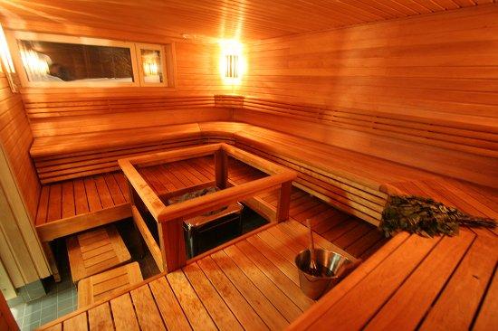 Savonlinna, Finland: Several saunas — open daily