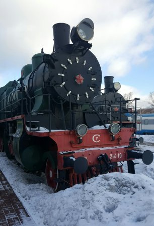 The Rizhskaya Railway Museum