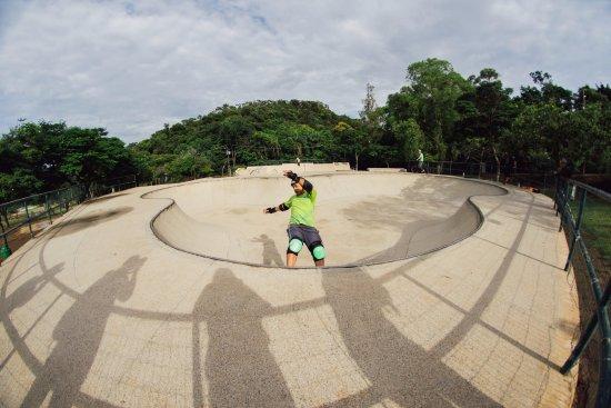 Parque das Mangabeiras: Skatista