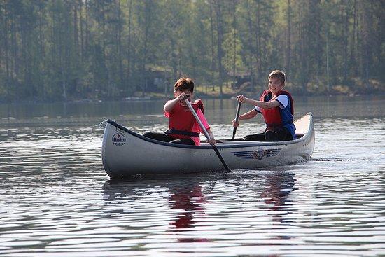 Savonlinna, Finland: Enjoy the lake - rent a canoe or rowboat