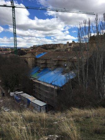 Monasterio del Parral: It's under reconstruction.