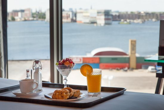 DoubleTree by Hilton Hotel Amsterdam - NDSM Wharf: View from the room