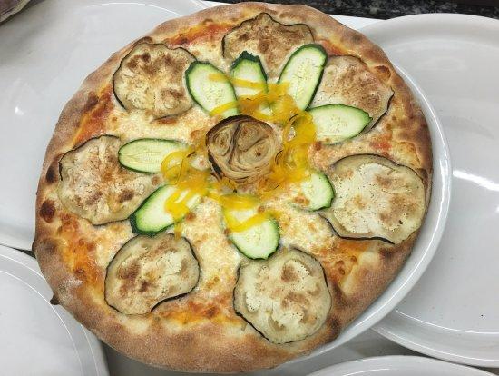 Miami Pizzeria Ristorante: pizza vegetariana