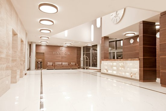 Haston City Hotel : Lobby Recepcja