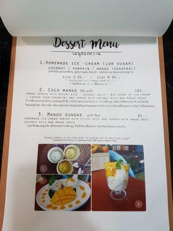 Coco Mango: page2 - dessert menu