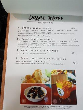 Coco Mango: page3 - dessert menu (continue)