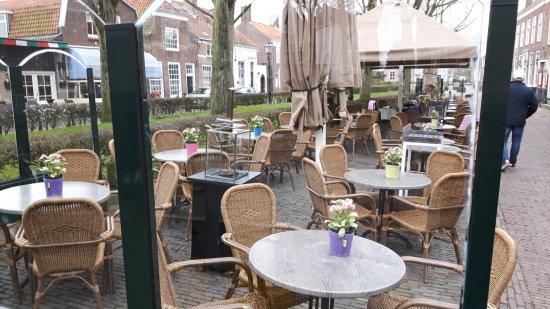 't Waepen van Veere: terras