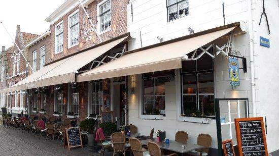 't Waepen van Veere: Sfeervol restaurant
