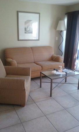 Hillsboro Beach, ฟลอริด้า: living room 628