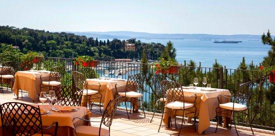 Terrazza Del Ristorante Restaurant Terrace Picture Of