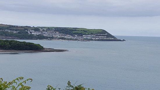 New Quay from coastal Path