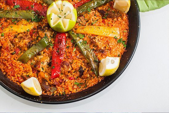 Monkey Beach Club: Paella Campesina