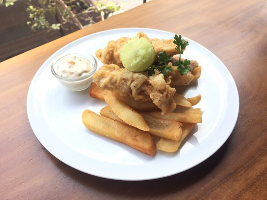Blackbird brekkie & brunch: Full on batter fried fish & chips