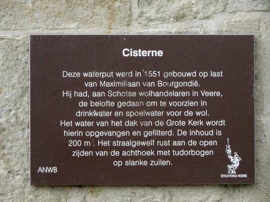Grote Kerk: Informatie over de waterput voor de kerk