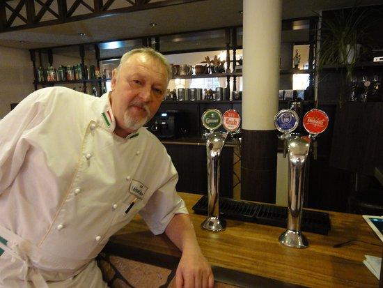 U Gabora: Любимое пиво шефа - немецкий Хофброй