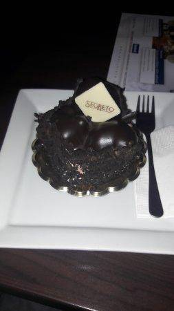 Caffe Macchiato: dark chocolate